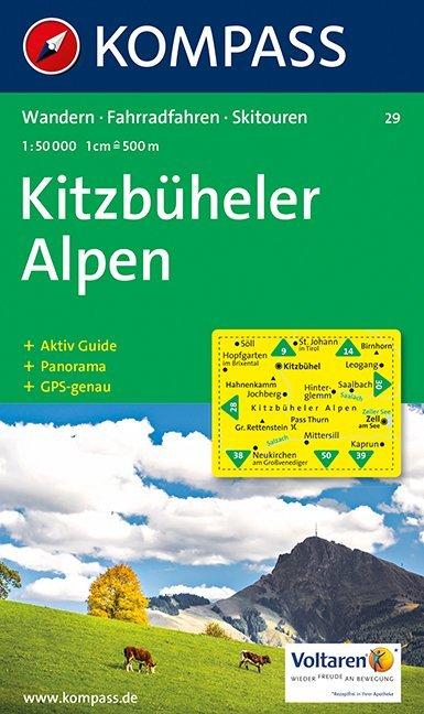 Kitzbüheler Alpen 1 : 50 000 als Buch
