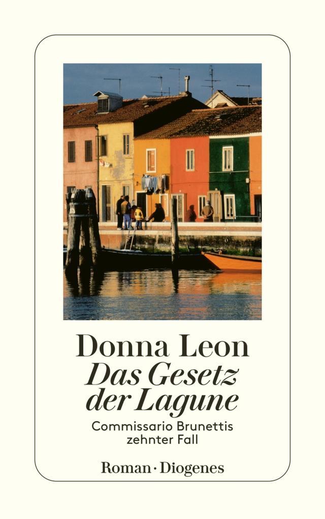 Das Gesetz der Lagune als eBook von Donna Leon