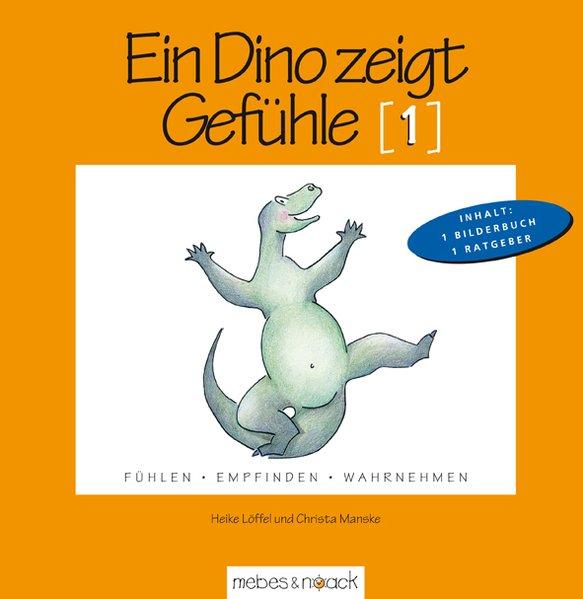 Ein Dino zeigt Gefühle als Buch