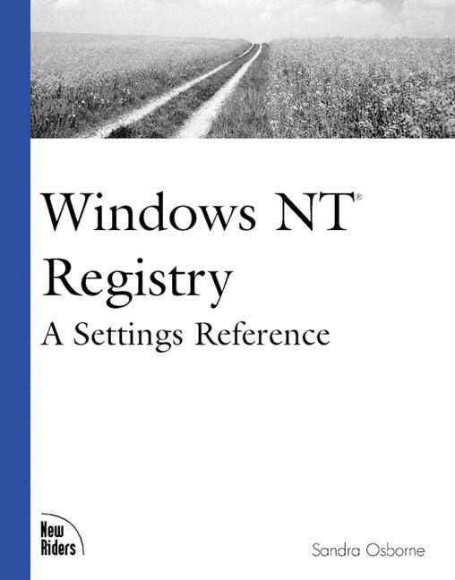 Windows NT Registry als Buch