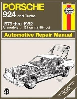 Porsche 924, 1976-1982 als Taschenbuch