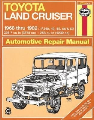 Toyota Land Cruiser (68-82) Automotive Repair Manual als Buch