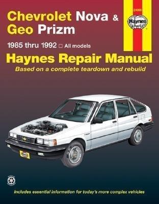 Haynes Chevy Nova, Geo Prism, 1985-1992 als Taschenbuch