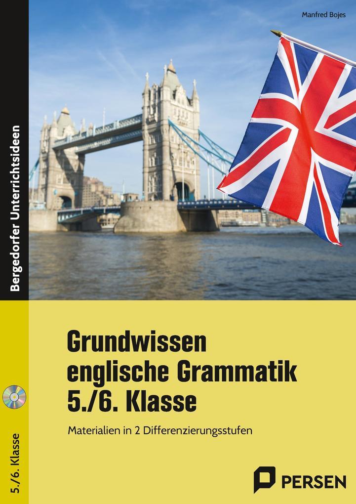 Grundwissen englische Grammatik - 5./6. Klasse als Buch von Manfred Bojes