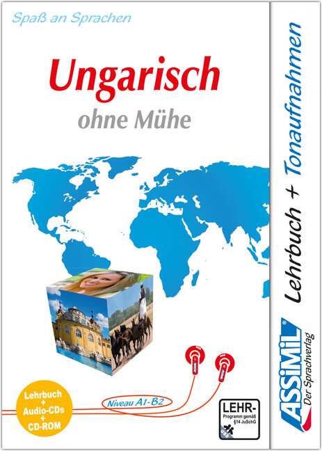Assimil. Ungarisch ohne Mühe. Multimedia-PLUS. Lehrbuch und 4 Audio CDs und CD-ROM für Win 98 / ME / 2000 / XP als Software