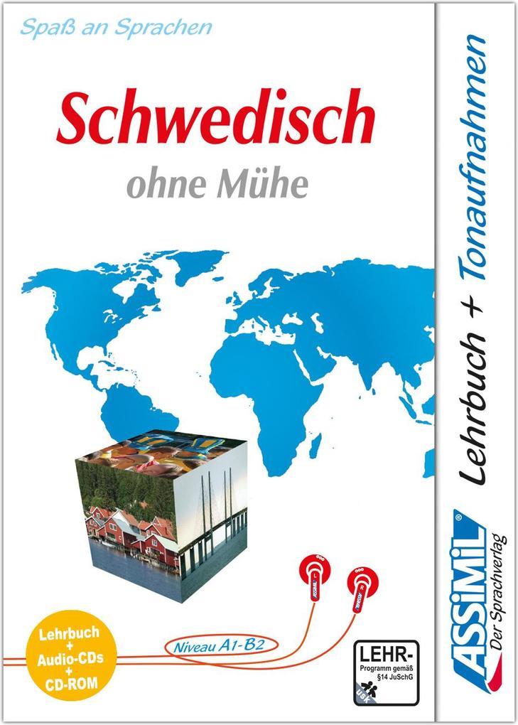 Assimil. Schwedisch ohne Mühe. Multimedia-PLUS. Lehrbuch und 4 Audio CDs und CD-ROM für Win 98 / ME / 2000 / XP als Software