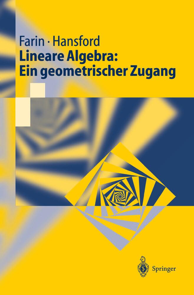 Lineare Algebra: Ein geometrischer Zugang als Buch