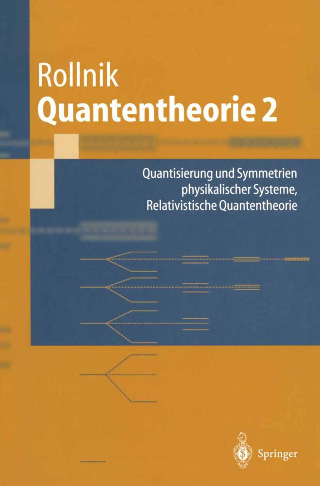 Quantentheorie 2 als Buch
