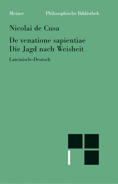 De venatione sapentiae / Die Jagd nach der Weisheit als Buch