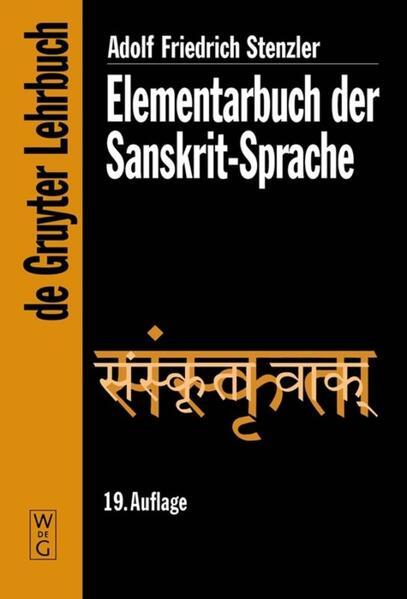 Elementarbuch der Sanskrit-Sprache als Buch