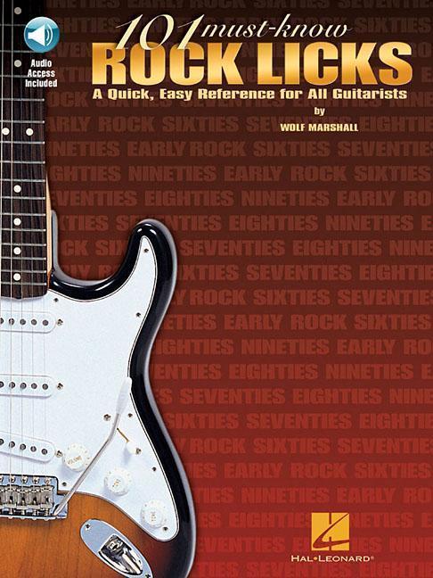 101 Must Know Rock Licks als Taschenbuch