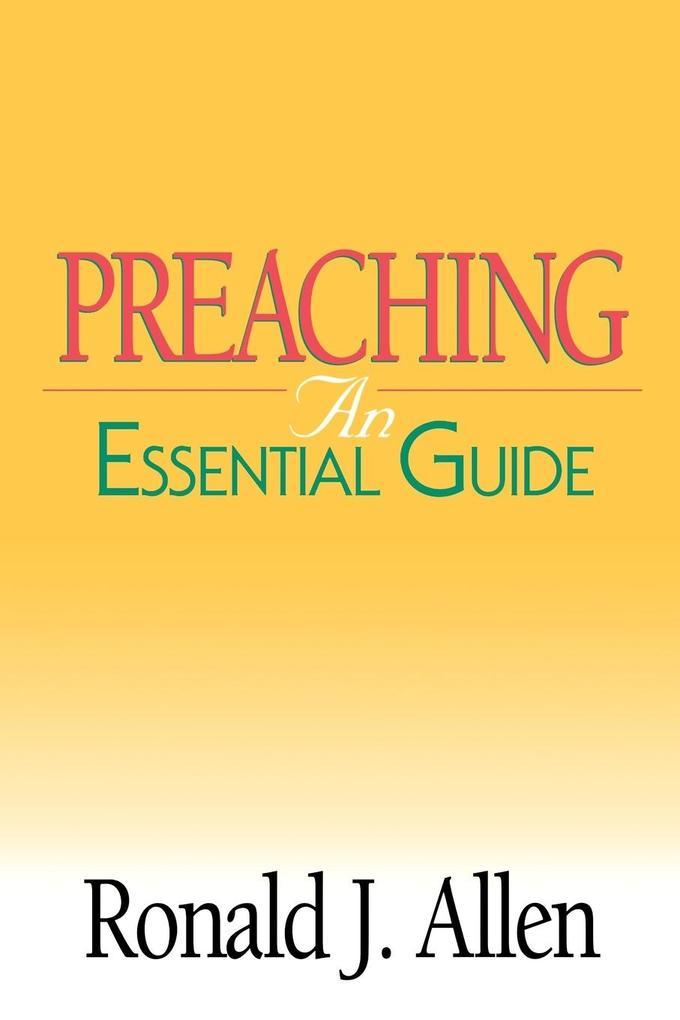 Preaching als Taschenbuch