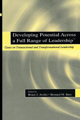 Developing Potential Across a Full Range of Leadership als Taschenbuch