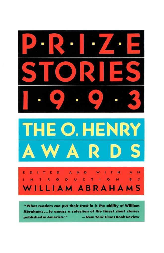 Prize Stories, 1993 als Taschenbuch