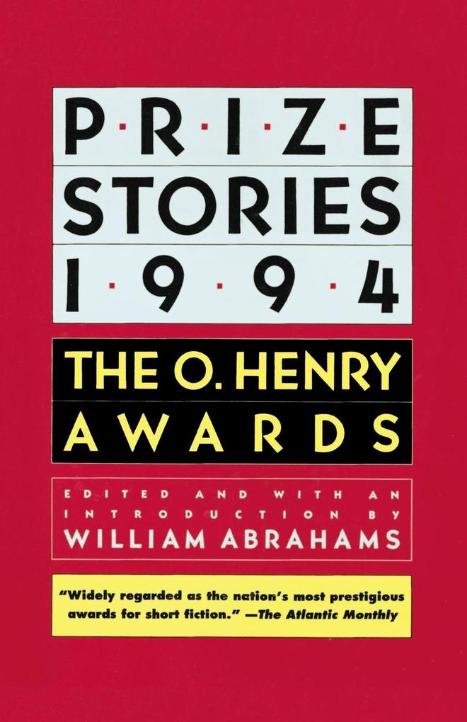 Prize Stories 1994 als Taschenbuch