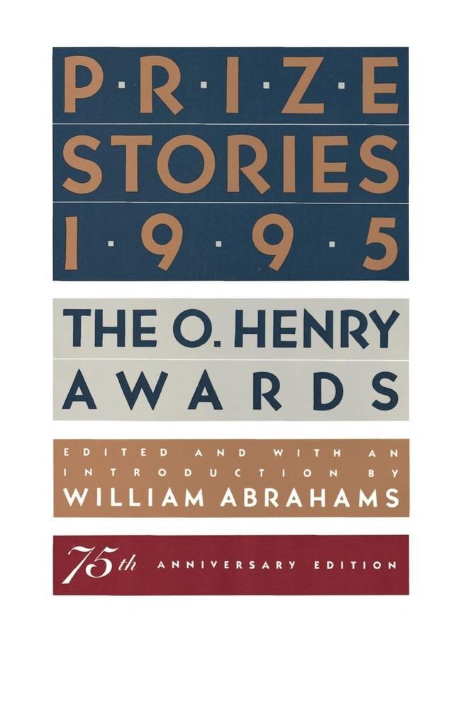 Prize Stories 1995 als Taschenbuch