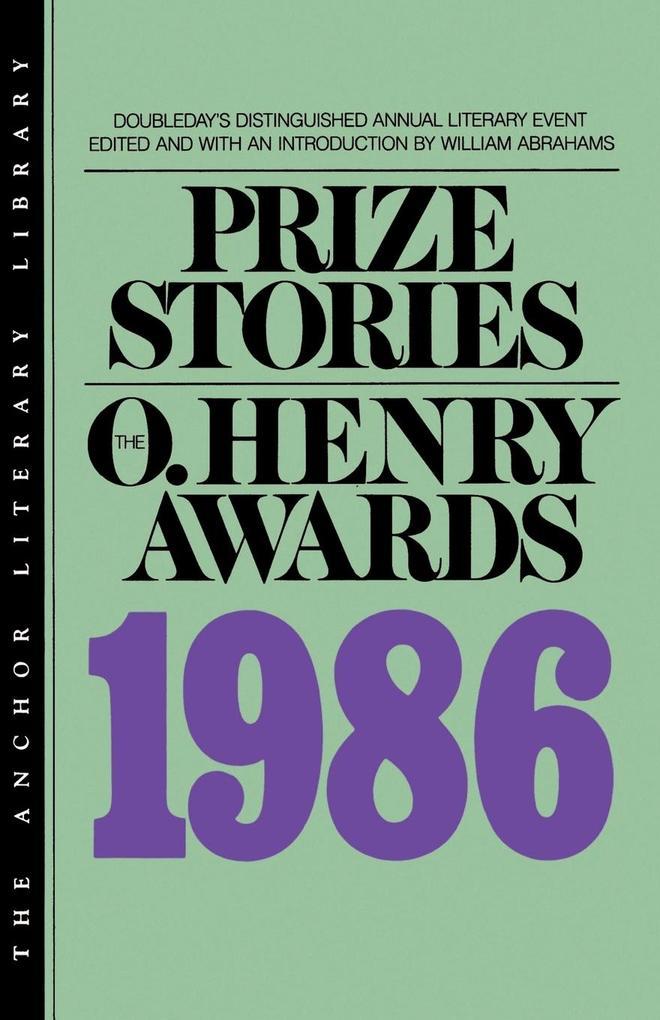 Prize Stories 1986 als Taschenbuch