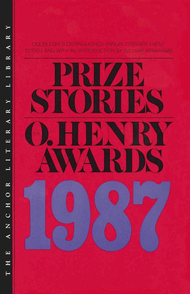 Prize Stories, the O Henry Award 1987 als Taschenbuch