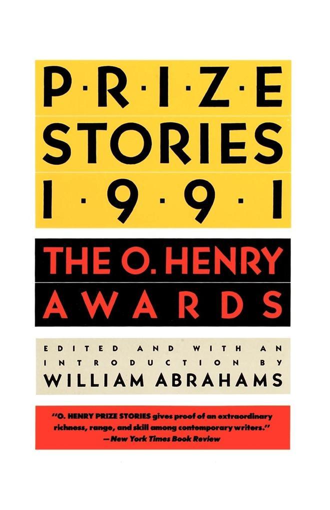 Prize Stories 1991 als Taschenbuch