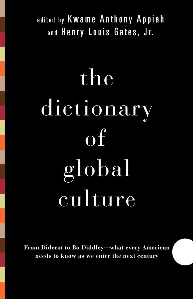The Dictionary of Global Culture als Taschenbuch