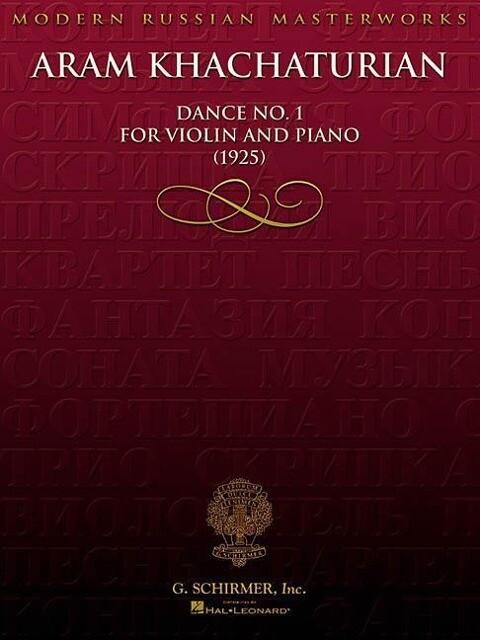 Aram Khachaturian: Dance No. 1 for Violin and Piano (1925) als Taschenbuch