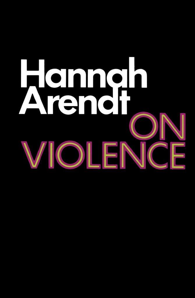 On Violence als Taschenbuch