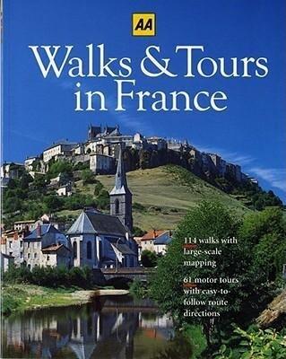 Walks & Tours in France als Taschenbuch