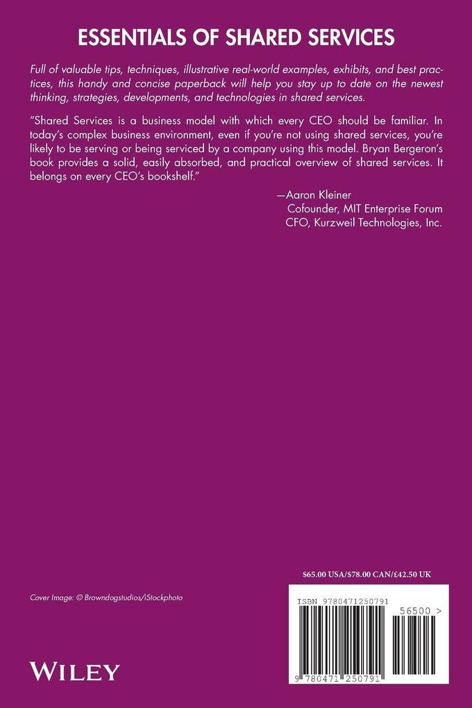 Essentials of Shared Services als Buch