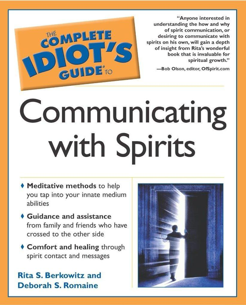 The Complete Idiot's Guide to Communicating with Spirits als Taschenbuch