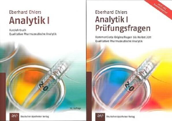 Analytik I - Kurzlehrbuch und Prüfungsfragen als Buch von Eberhard Ehlers