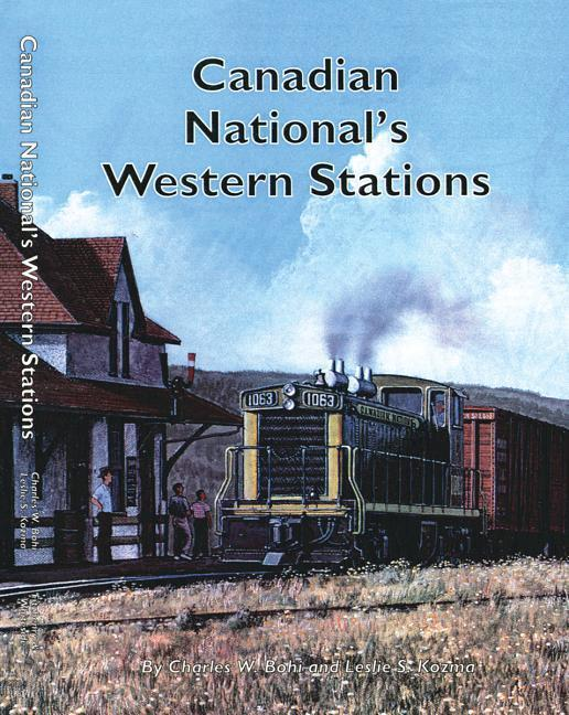 Canadian National's Western Stations als Buch