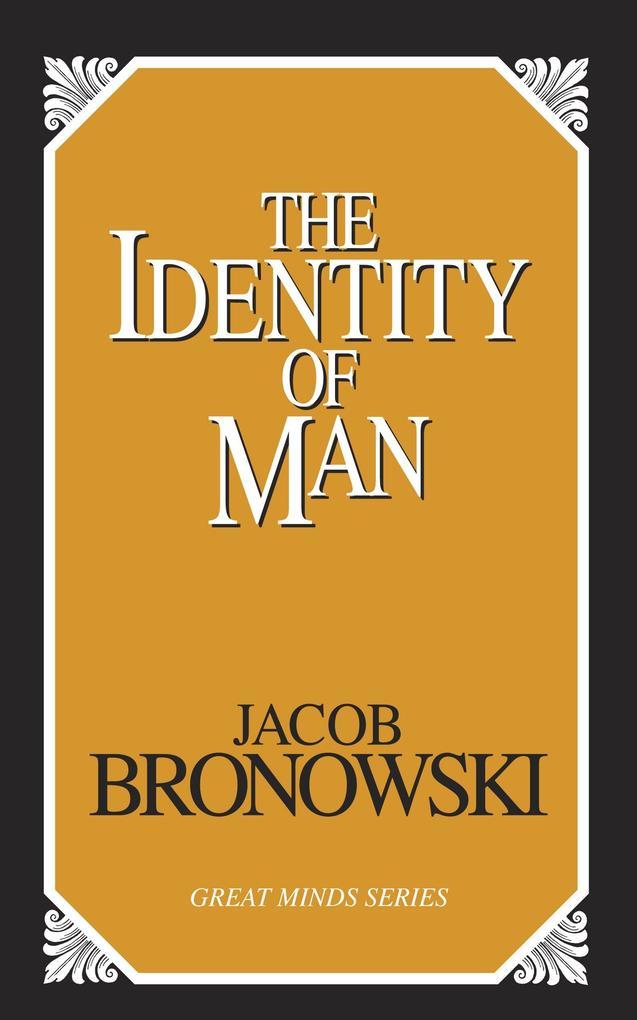 The Identity of Man als Taschenbuch