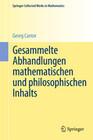 Gesammelte Abhandlungen mathematischen und philosophischen Inhalts