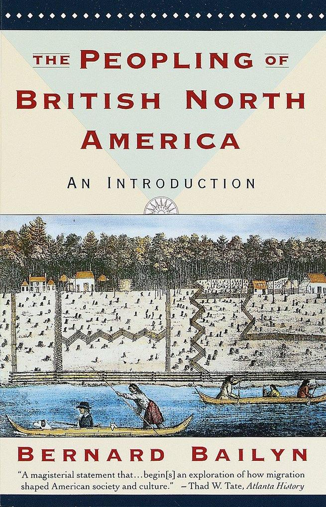 The Peopling of British North America: An Introduction als Taschenbuch