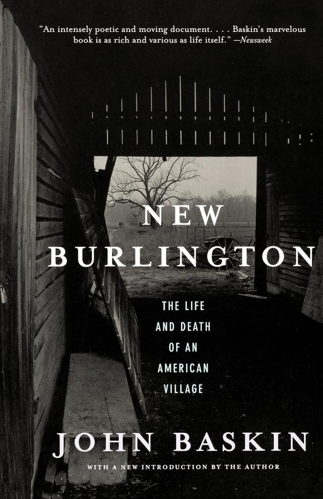 New Burlington: The Life and Death of an American Village als Taschenbuch