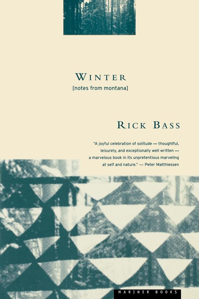 Winter: Notes from Montana als Taschenbuch