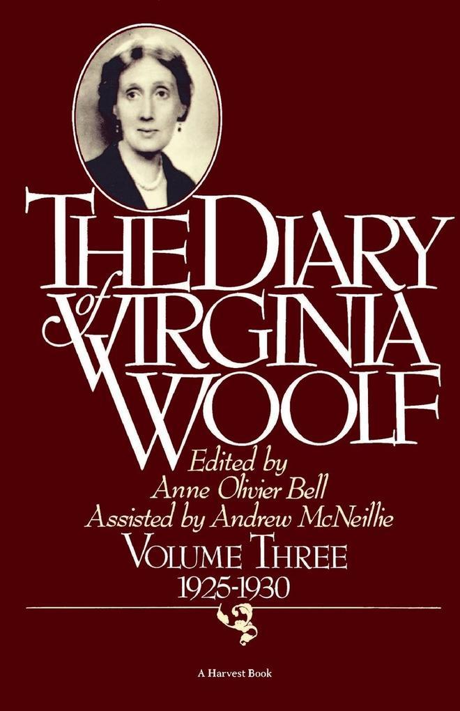 Diary of Virginia Woolf: 1925-1930 als Taschenbuch