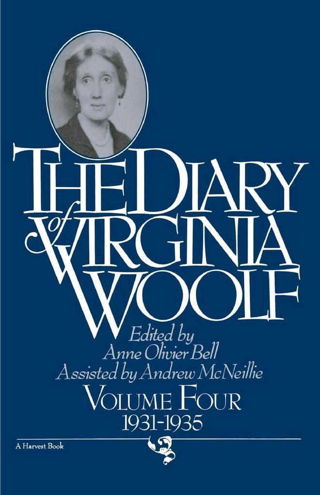 The Diary of Virginia Woolf: 1931-1935 als Taschenbuch