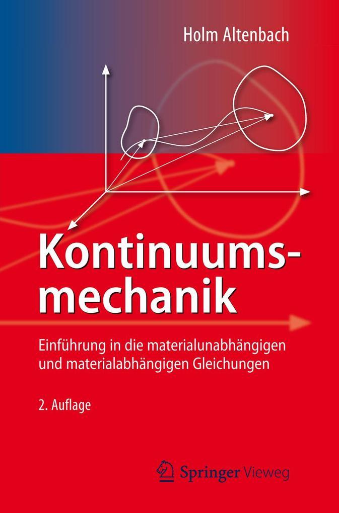 Kontinuumsmechanik als eBook