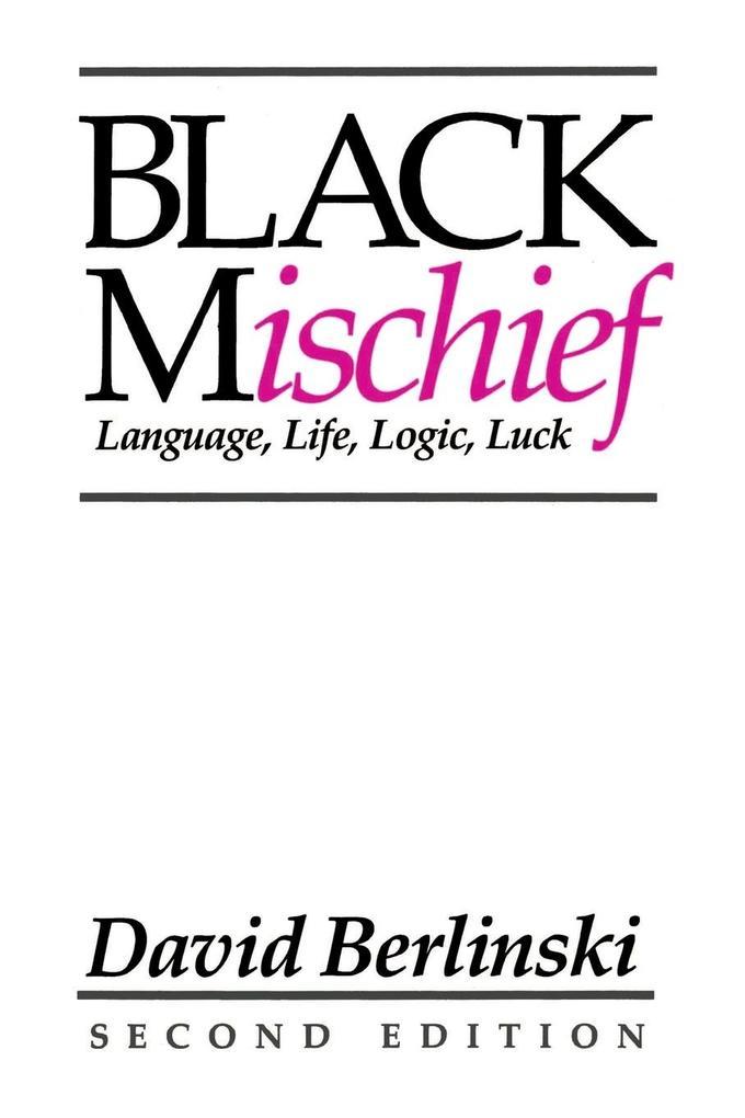 Black Mischief: Language, Life, Logic, Luck - Second Edition als Taschenbuch