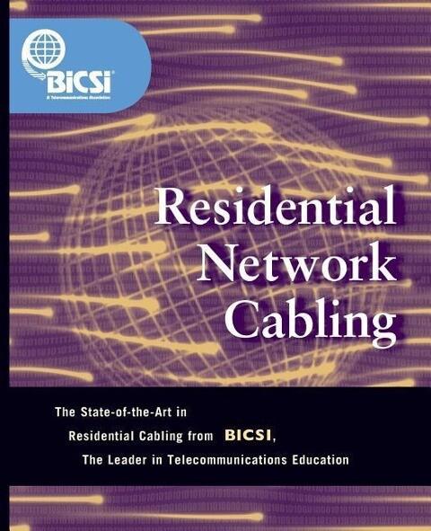 Residential Network Cabling als Taschenbuch