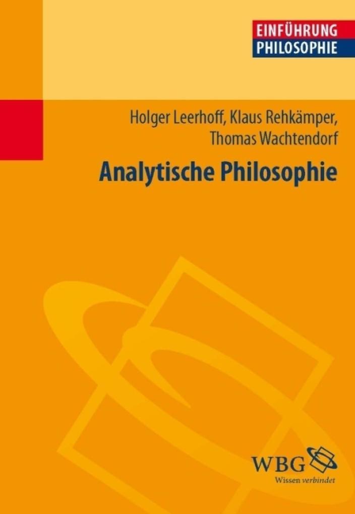Einführung in die Analytische Philosophie