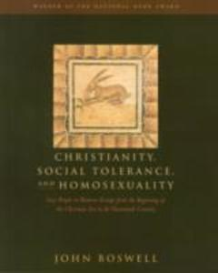 Christianity, Social Tolerance and Homosexuality als Buch
