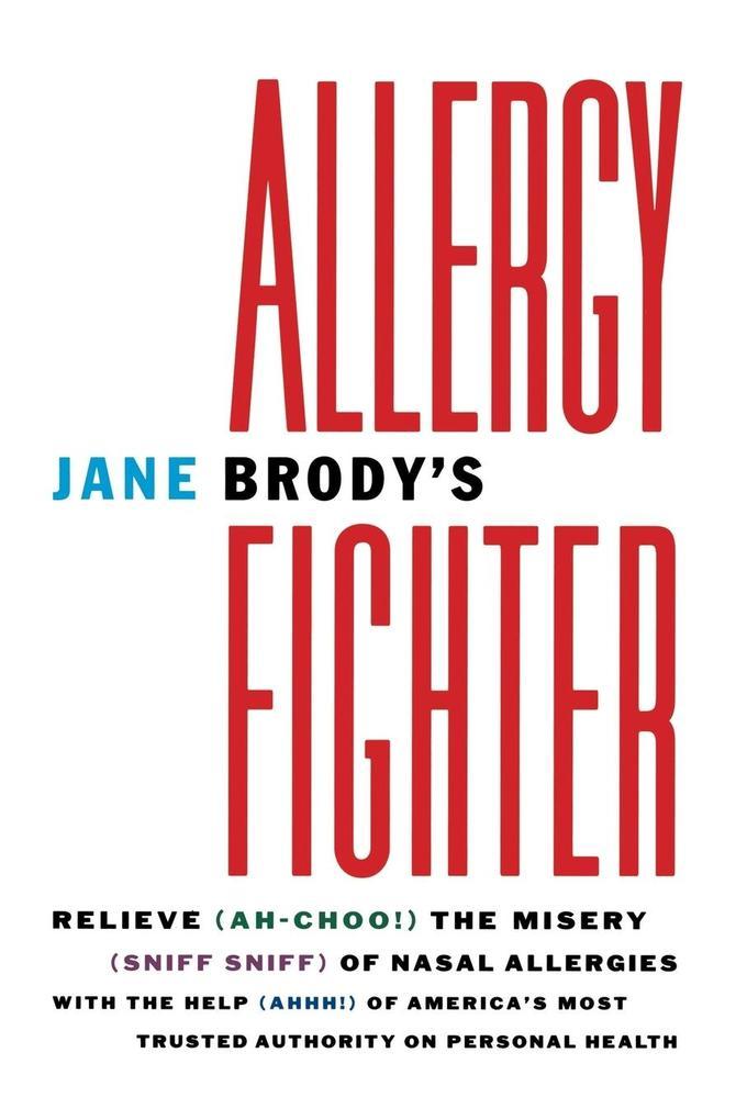 Jane Brody's Allergy Fighter als Taschenbuch