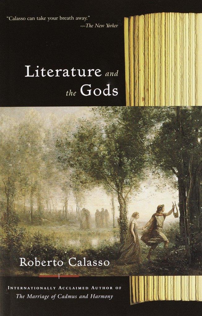 Literature and the Gods als Taschenbuch