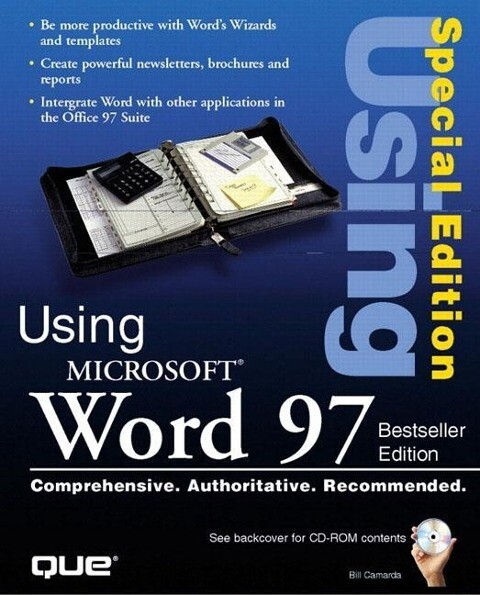 Using Microsoft Word 97 Special Edition als Buch