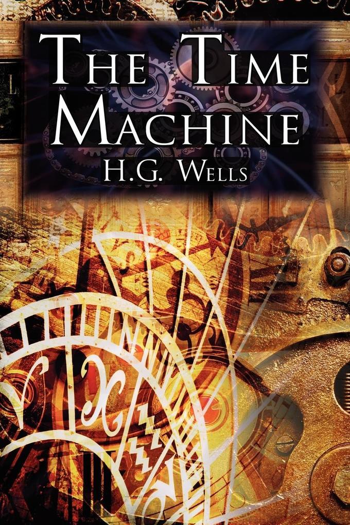 The Time Machine als Buch von H. G. Wells