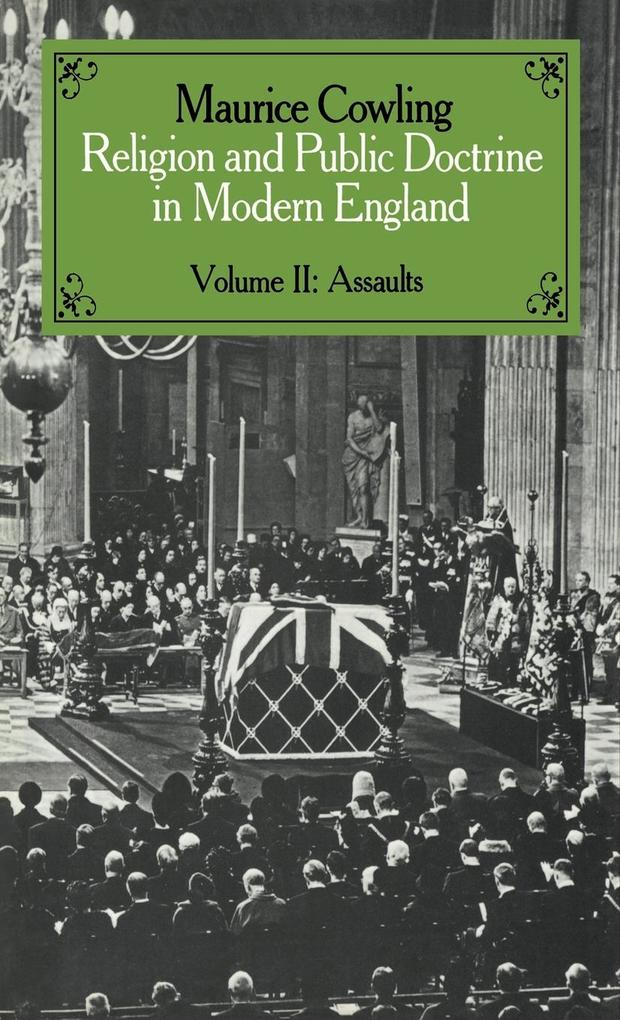 Religion and Public Doctrine in Modern England: Volume 2 als Buch