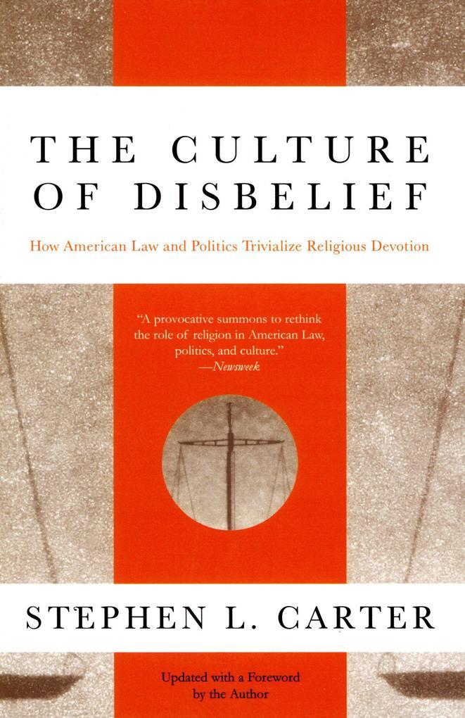 The Culture of Disbelief als Taschenbuch