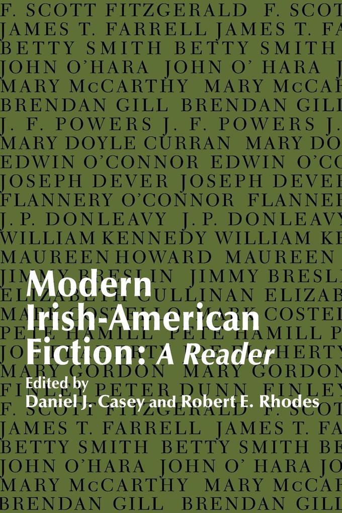 Modern Irish-American Fiction: A Reader als Taschenbuch